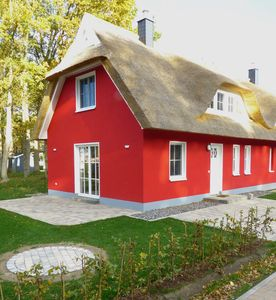 Photo for quiet thatched cottage, strannah the dune forest, sauna, fireplace, wireless, 2 bedroom