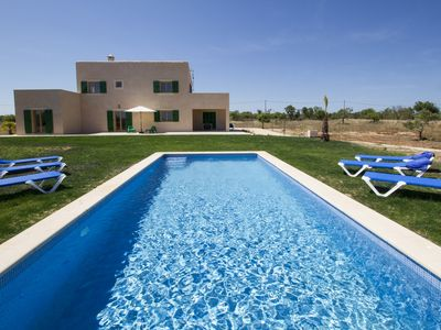 Photo for Carroza - New building - finca with pool near Port de Manacor