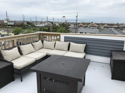 Photo for 1 year old home! Rooftop Deck, 3Bed, off-street parking,  ground floor stoarage