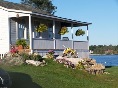 Photo for New! Lovely Maine Cottage Overlooking the Harbor with Amazing Sunsets