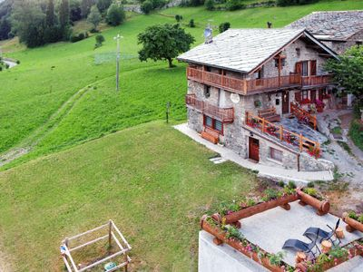 Photo for Vacation home Chalet Ad Lignum (VGB302) in Allein - 6 persons, 1 bedrooms
