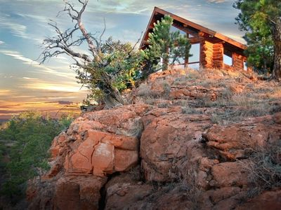 Perched On The Edge of Historic Red Canyon