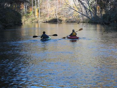 Kayak, Canoe and Tube Rentals Nearby.