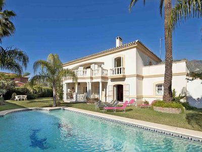 Photo for Large 5 beds villa for rent in Marbella Town
