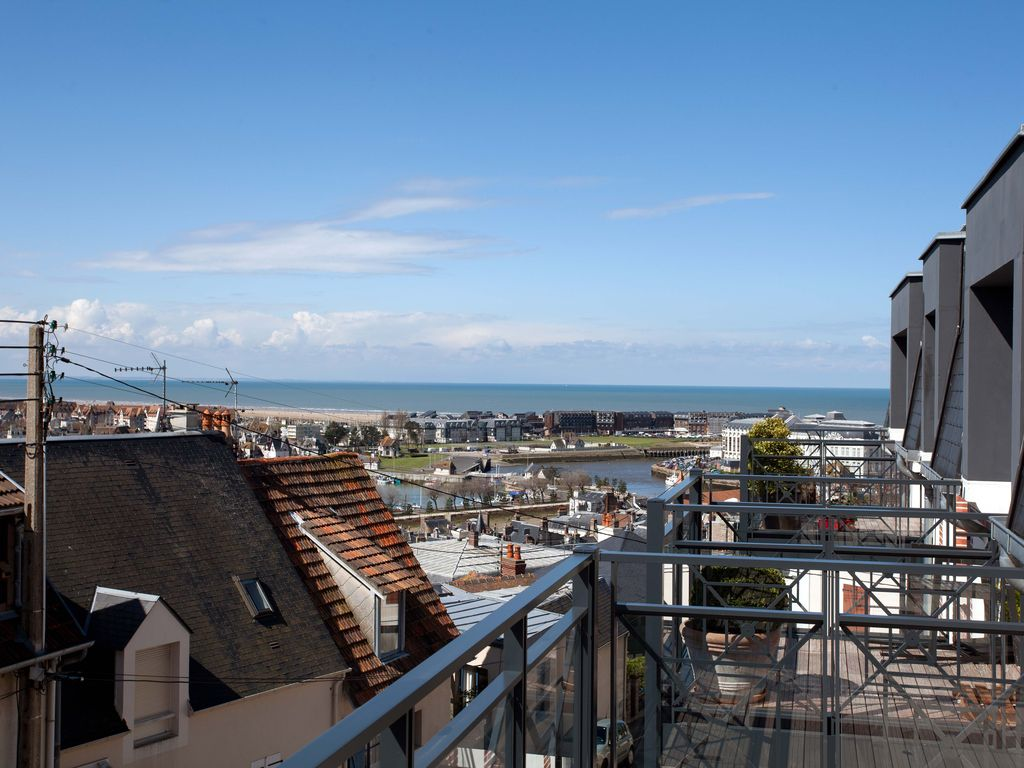 "Vue Mer: ""Le Clos"", 3p Neuf Gd Standing (70 m2) - famille (5 pers.) - Trouville"