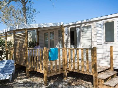 Photo for Camping Le Soleil Bleu by Nai'a **** - Mobil Home MAGNOLIA 3 Rooms 4/6 People Air conditioned
