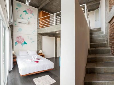 Photo for Lovely Loft Space with room for four people Unit #2