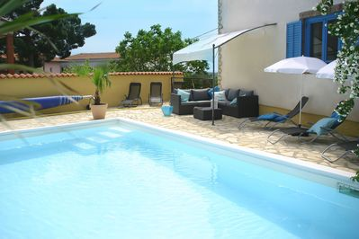 Comfortable house with private swimming pool, enclosed garden and central  location. Porec 19km. - Brnobići