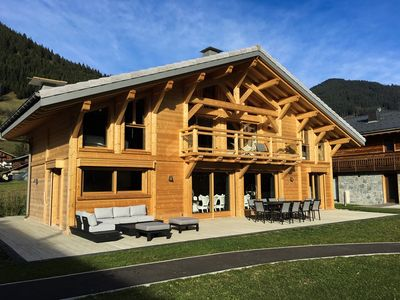 Photo for chalet cret beni 14 persons with swimming pool