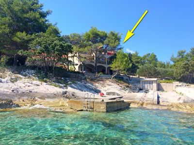 Photo for Apartments Ivo, (15501), Prigradica, island of Korcula, Croatia