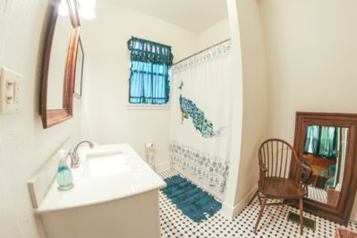 Downstairs bathroom off the Green Room
