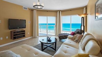 Photo for Emerald Isle unit 706. 2 bed/2 bath. Free WiFi. Swimming Pool. 7th floor