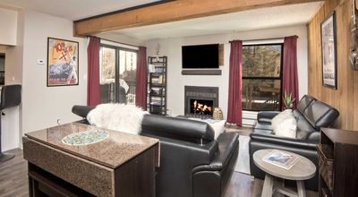 Photo for Premier newly remodeled condo only 1 mile to slopes on free bus. Pool, hot tub!!