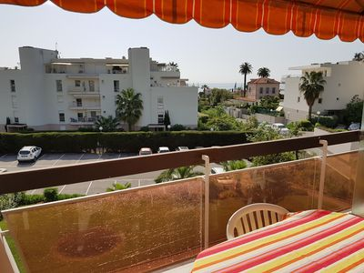 Photo for 732 sqft bright appartment - 3 rooms - 5 Min walk to the beach