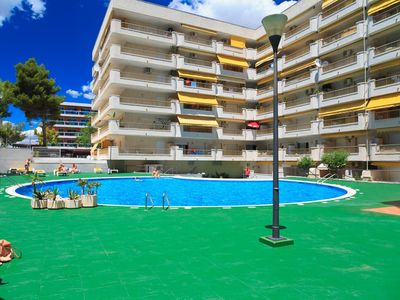 Photo for BEAUTIFUL AND COMFORTABLE APARTMENT WITH TERRACE VIEW SEA AND POOL, SALOU S104-249 ATALAYA MAR