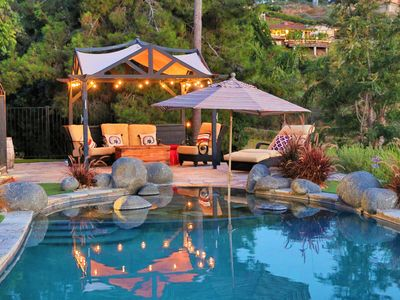Photo for A private oasis to relax and play in the comfort of a gated 2-acre estate.