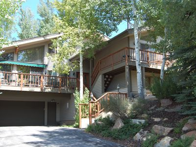 Photo for Lower Deer Valley Home, Mountain Views, Hot Tub, Resort Shuttle