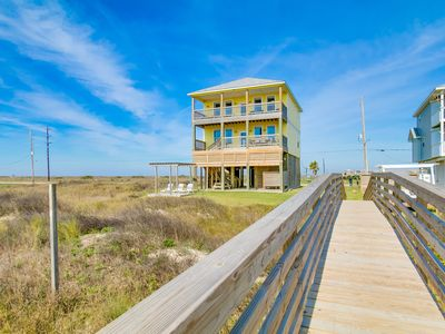 Photo for Beach Front - 5 Bedroom - 2 Master Suites - 3 King Beds  - Miramar Beach