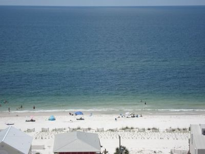 View of the Gulf from balcony