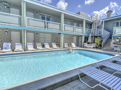 Photo for Studio w/Pool Access, 1 Block to Clearwater Beach!