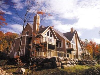 Photo for Tremblant Ski in Ski out - Best location - No need to wait for shuttle bus!