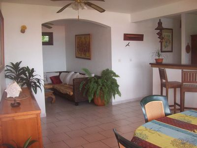 Photo for Large F3 very beautiful sea view, 100m beach and sea shuttles on foot! Wireless