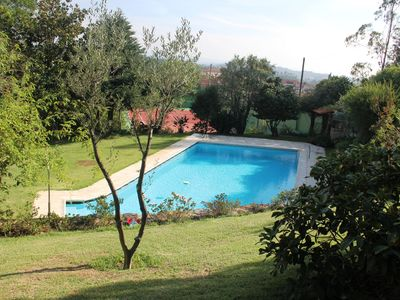 Photo for Amazing Villa with Pool, Tennis Court, 15 minutes from the Port, in Nature
