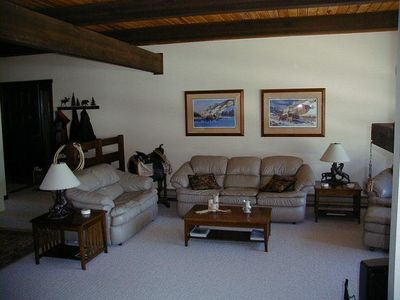 Photo for Best rates for front row beaverhead condo with indoor hot tub. Ski in/out