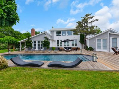 Photo for Summer Rental Southampton Waterfront w/ Boat Dock