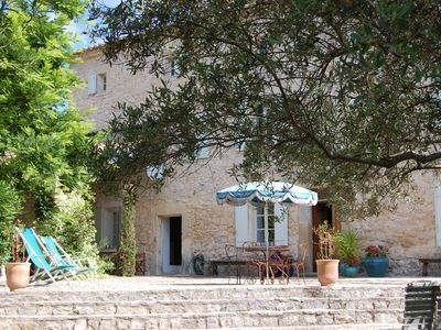 Photo for Traditional mas in a small village 7 km from Uzès