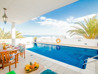 Photo for WAKE UP WATCHING THE SEA!   GREAT PRIVATE POOL, VIEWS, BBQ, WIFI