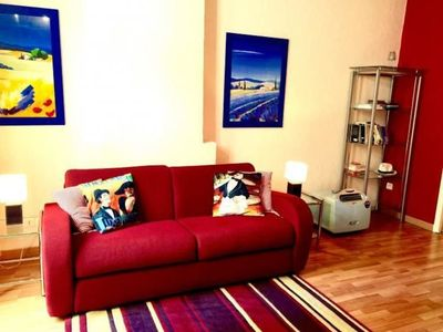 Photo for Faure Apartment - Near Palace of Festivals and Conferences