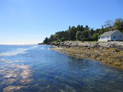 Open Ocean Views, Freshly Updated Interior, Perfect Orr's Island Location