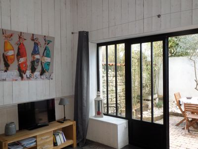 Photo for Renovated winery, workshop spirit 2/3 pers. located in the heart of the village