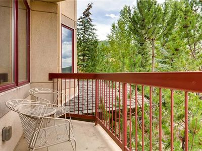 Photo for Stylish Slopeside Condo Overlooking the Pool, Perfect for Summer Getaway