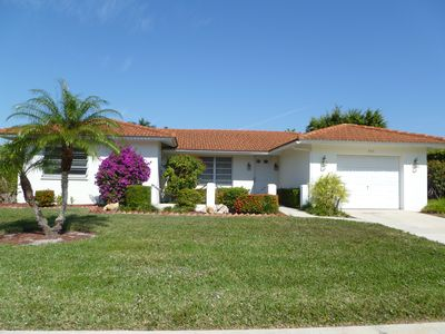 Photo for Escape to Marco Island, walk to the beach, house with heated pool