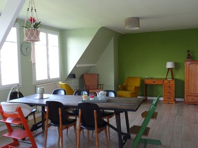 Photo for NEW St-Malo St-Servan: Charming family apartment: 4 rooms, 100m2, 5 pers.