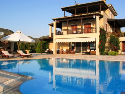 Photo for Villa Phaedra with pool and garden by JJ Hospitality