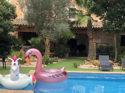Photo for AUTHENTIC Large Mallorquin House with Private Pool., SPECIAL OFFER