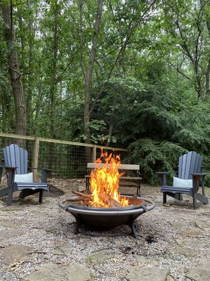 Photo for Wooded Retreat with hot tub, Firepit & game room 5 min. from Saugatuck/Douglas