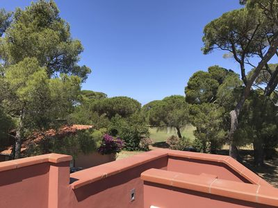 Photo for Spacious apartment in an ancient villa with exclusive terrace, park and swimming pool