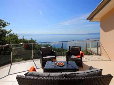 Photo for Newly built two bedroom penthouse with inviting terrace and beautiful sea views