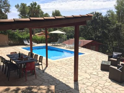 Villa (max. 12 p.) In Begur (no high-rise buildings), private swimming  pool, wifi, outdoor kitchen - Begur