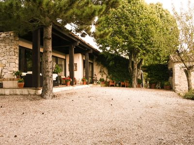 Photo for Provencal villa with pool in Coursegoules hostel close to Vence