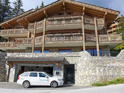 Photo for Nice apartment with WIFI, hot tub, private pool, TV, balcony, pets allowed and parking
