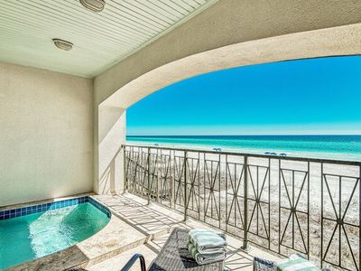 FRANGISTA BLISS- SMALL DOGS OK-BEACH FRONT-2 POOLS-ELEVATOR!!!