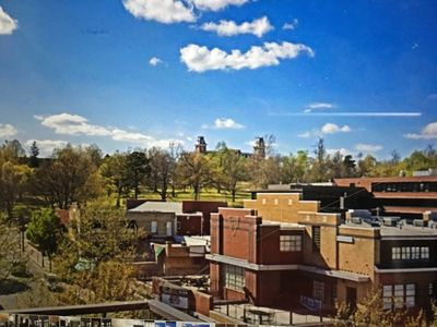 Photo for Dickson Street Luxury Condo! Corner unit! Beautiful view of campus! Best spot!