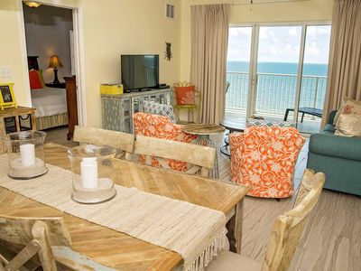 Photo for Gulf Front 2 Bedroom ~ Sleeps 7  ~ Pool ~ Great Location ~ Crystal Shores West 505