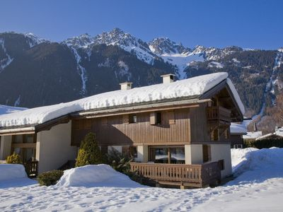 Photo for Chalet 3 * Chamonix, 5 minutes from golf, breathtaking views Mont Blanc