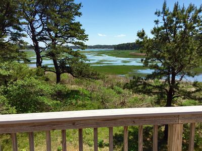 Photo for Modern 4BD with Stunning Marsh Views--A/C, Deck, Screen Porch, Close to Bay Beach
